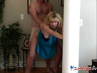 Blue Dress fuck