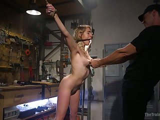 That's without equal the perfect slave and Cadence Lux loves canning