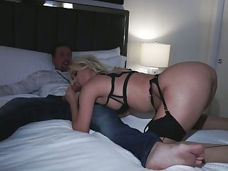 Fascinating sexpot roughly juicy curves Natalia Starr loves at most anal