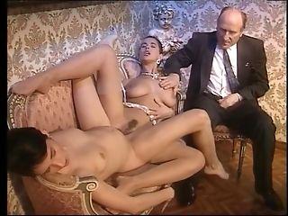 Cougar Gets hefty jaws pop-shots In classical Italian porno flick sextube