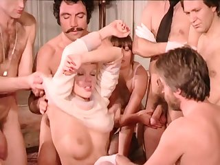 Vintage Copulation Orgy - French
