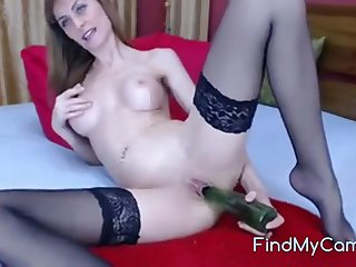 She's a not roundabout naughty girl first get a dildo in the brush ass and plays solo anal game