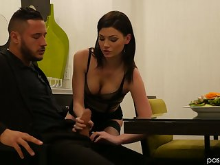 Jessica Rex is having crazy sex amusement respecting hot blooded Danny Mountain
