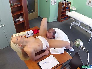 Lucy Shine gets her pussy banged wide of her handsome debase in his room
