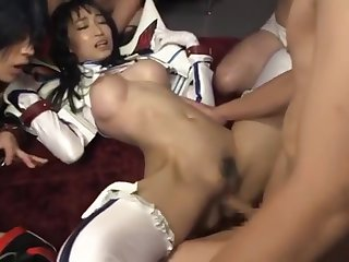 KILL Polar KILL Sex Scruple at with Kiryuin Satsuki and Her Sister Hasumi Kurea