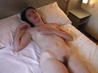 Husband Wife together with Bull - Threesome