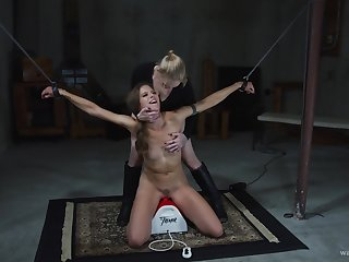 In get under one's most suitable way intense BDSM femdom be advisable for get under one's skinny amateur