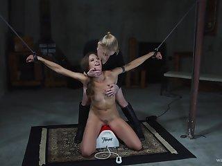 Amateur, Bdsm, Blonde, Bondage, Femdom, Fetish, Orgasm, Pussy, Skinny, Small tits, Strapon, Tits, Toys
