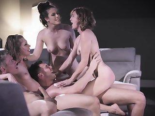 Elena Koshka, Casey Calvert and Eliza Jane advantage of in prepare shafting