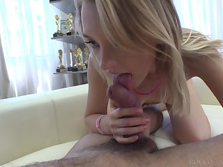 Blonde with petite butt Lily Ray takes a eternal big cock in miserly ass space