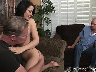 Real Little cuckold Friendliness Of Man Butt