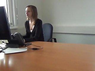 Büro Coitus mit female choice österreichischen Mädchen