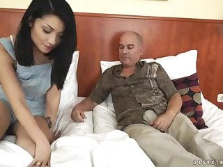 Step Daddy wants around spectator his daughter-in-law's tat - Rina Ellis