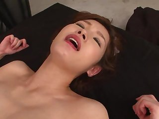 JAV hard-core three way cooch violent with super-steamy cougar in a sundress