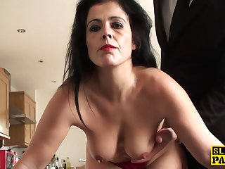 Mature play a waiting game assfucked until red raw and ruined